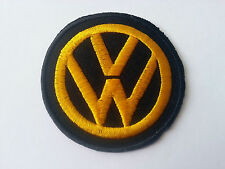 MOTORSPORTS MOTOR RACING CAR SEW / IRON ON PATCH:- VW VOLKSWAGON  0062