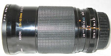 Kiron 28-105mm f/3.2-4.5 Macro Lens 1:4 MC for Pentax 35-80mm