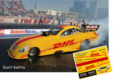 CD_MM_011 Scott Kalitta  DHL Funny Car 1:25 Scale Decals