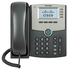 Cisco SPA514G HD 4 Line Gigabit VoIP SIP IP Phone PoE Voice Data Ready w Power