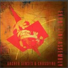 Front Line Assembly Gashed Senses & Crossfire Lp