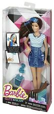 Mattel Barbie Glitz & Glam Doll (Blue Outfit) CHJ92 - New in Box