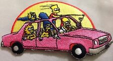 "The Simpsons Car Patch 2""x4"""