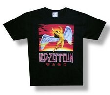 LED ZEPPELIN Hard Rock Heavy Metal SWAN SONG ICARUS Adult COTTON T SHIRT S New