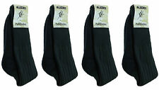 New Mens Bridgedale Blaxnit Pathfinder Warm Double Knit Socks 4 Pair 6-10 Black
