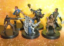 Dungeons & Dragons Miniatures Lot  Halfling Gnome Player Characters !!  s108