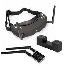 Skyzone SKY02 AIO 3D FPV Goggles Headset Head Tracing Glass SKY-02 5.8G 32CH