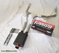 "Ford F150 F250 07-15 Truck 2.5"" Mandrel Dual exhaust Super 44  Flowmaster"