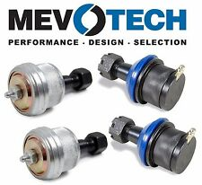 Dodge Ram 1500 2500 4WD Replacement 2 Upper & 2 Lower Ball Joints Kit Mevotech