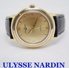 Solid 18k ULYSSE NARDIN Automatic Watch c.1960s in EXLNT Condition* SERVICED