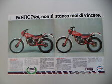 advertising Pubblicità 1983 MOTO FANTIC TRIAL 50/240 PROFESSIONAL