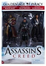 Assassin's Creed Golden Age Of Piracy 3 Pack Action Figures