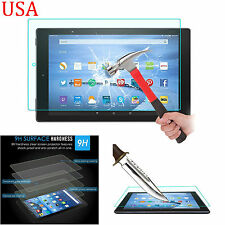 "For Amazon Kindle Fire HD 10"" Tablet Transparent Tempered Glass Screen Protector"