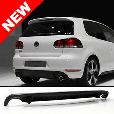 10-14 VW MK6 GOLF DUAL OUTLET REAR BUMPER LOWER DIFFUSER LIP - GTI STYLE