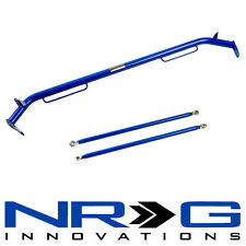 "NRG Universal Seat Belt Harness Bar - BLUE - 47"" Inches"