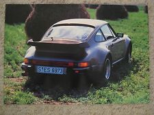 1982 Porsche 930 Turbo Coupe Advertising Poster Print Picture RARE Awesome