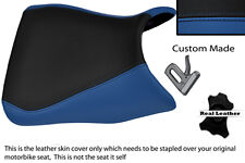 BLACK & BLUE CUSTOM FITS YAMAHA 1000 YZF 96-03 FRONT THUNDERACE SEAT COVER