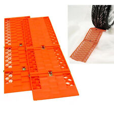 Pair Tyre Wheel Grip Traction Mat Tracks for Snow Ice Mud Sand Rescue Car Van x2