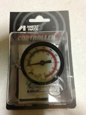 New ANEST IWATA Hand Pressure Gauge AJR-02S-VG Air Regulator for Spray Guns