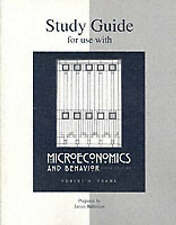 Microeconomics and Behavior, 5th Edition, Study Guide-ExLibrary