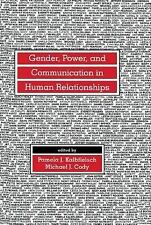 Gender, Power, and Communication in Human Relationships (Routledge Communication