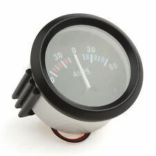 2'' 52mm 60-0-60 AMP Meter Voltmeter Gauge Car/Boat/Truck/ATV/AMP Meter Gauges