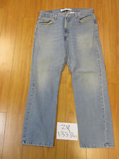 used levi 505 regular fit grunge jean tag 36x30 meas 34x29 zip13336