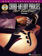 Chord-Melody Phrases For Guitar Learn to Play Jazz TAB Music Book & CD
