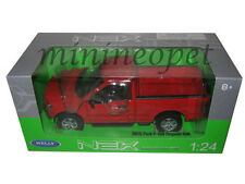 WELLY 24063 2015 15 FORD F-150 PICK UP TRUCK REGULAR CAB 1/24 DIECAST RED