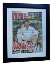 BLACK GRAPE+RYDER+RARE ORIGINAL+NME 1995+VINTAGE+POSTER+FRAMED+FAST GLOBAL SHIP