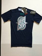 Under Armour Seattle Mariners Compression Shirts Mens Size M