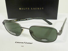 Polo Ralph Lauren 847 Grigio Matte Gray occhiali da sole sunglasses New Original
