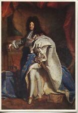 Alte Kunstpostkarte - Rigaud - König Louis XIV. von Frankreich