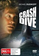 CRASH DIVE - MICHAEL DUDIKOFF FREDERIC FORREST ACTION NEW DVD MOVIE SEALED
