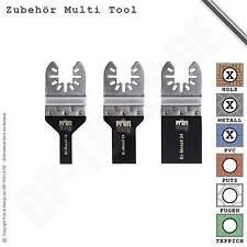 Multitool Tauchsägeblatt Set Bi-Metall Buntmetall Blech für Bosch PMF 180 E  101