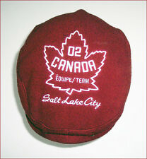 New ROOTS Team Canada Salt Lake City 2002 Winter Olympics Hat Cap - size S