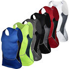 Mens Armour Compression Baselayer Vest Stretch Sportwear Singlet Tight Tank Tops