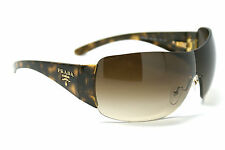 RARE Genuine PRADA Milano Tortoise  Brown Gold Sunglasses SPR 22M 2AU6S1 PR 22MS