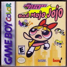 GBC Powerpuff Girls Bad Mojo Jojo, Brand New & Factory Sealed