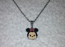 MINNIE MOUSE TSUM TSUM Inspired Charm NECKLACE Party Bags Stocking Filler