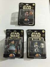 Lot Of 3 Disney Star Wars Star Tours Mickey / Donald / Bad Pete
