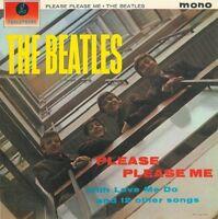 THE BEATLES Please Please Me Vinyl Record LP Parlophone PMC 1202 1963 EX