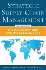 Strategic Supply Chain Management: The Five Core Disciplines for Top P-ExLibrary
