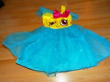 Size Small 4-6X Shopkins Cupcake Queen Halloween Costume Dress New