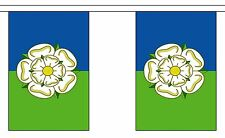 EAST RIDING OF YORKSHIRE 9 METRE BUNTING 30 FLAGS flag England UK Britain