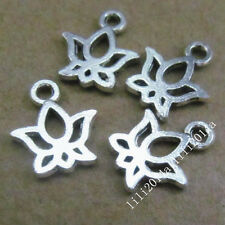 30pc Tibetan Silver Butterfly Animal Charms Pendant Beads Jewellery Making PL254