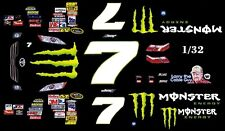 #7 Robby Gordon Drink 2010 Toyota 1/32nd Scale Slot Car Decals