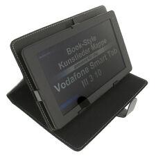 Funda para Vodafone Smart Tab III 3 10 Estilo libro Tableta Protectora negro