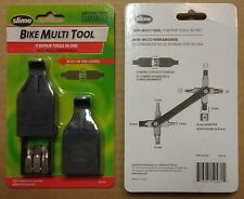 New Slime Compact Repair Tool 11 in 1 Bicycle Bike Multi Tool w/ Tire Levers