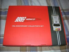 NINCO 10th ANNIVERSARY COLLECTOR`S SET - One Renault car & Book -